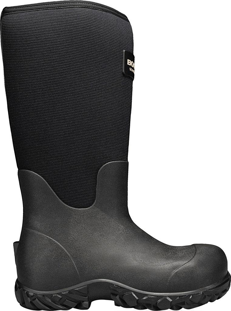 """Men's Bogs Workman 17"""" Adjustable Composite Toe Boot, Black Rubber/Textile, large, image 2"""