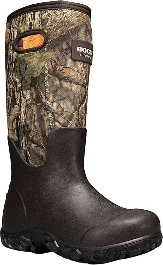 "Men's Bogs Rut Hunter 17"" ES Waterproof Rain Boot, Mossy Oak Rubber/Textile, large, image 1"