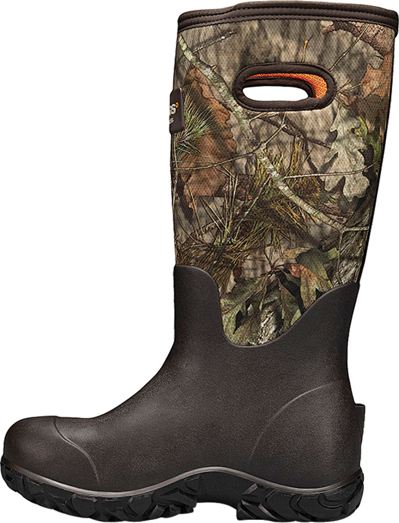"Men's Bogs Rut Hunter 17"" ES Waterproof Rain Boot, Mossy Oak Rubber/Textile, large, image 3"
