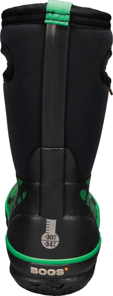 Children's Bogs Classic 4-H Waterproof Rain Boot, Black Multi Rubber/Textile, large, image 4