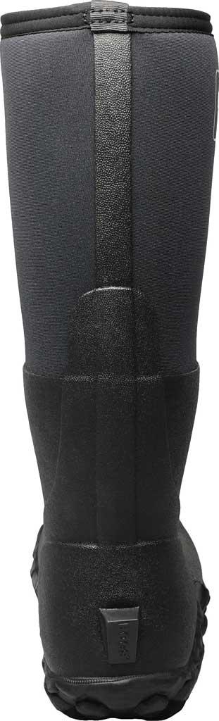 Men's Bogs Mesa Waterproof Rain Boot, Black Rubber/Textile, large, image 4