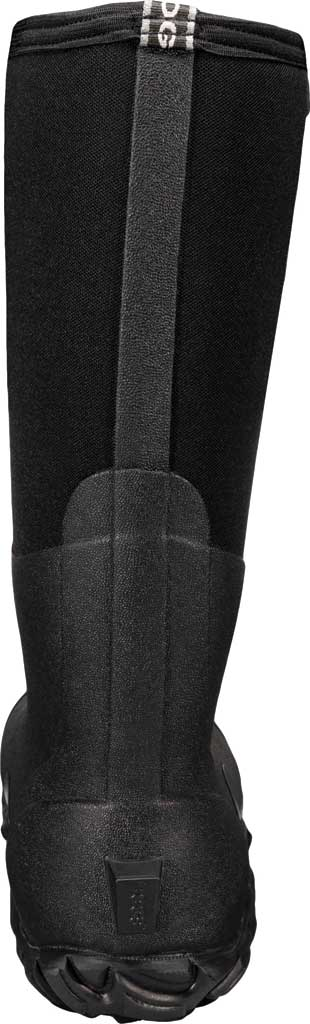 Men's Bogs Classic Tall 4-H Waterproof Rain Boot, Black Rubber/Textile, large, image 4