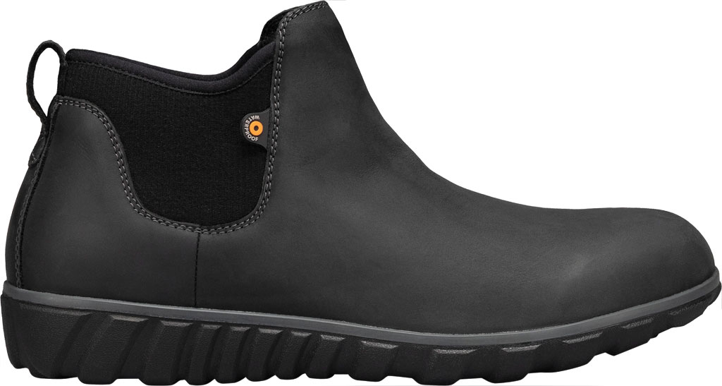 Men's Bogs Classic Casual Chelsea Waterproof Boot, Black Leather, large, image 2
