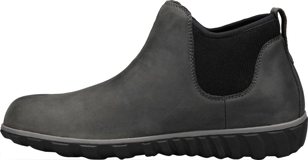 Men's Bogs Classic Casual Chelsea Waterproof Boot, Dark Grey Leather, large, image 3