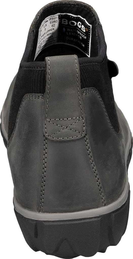 Men's Bogs Classic Casual Chelsea Waterproof Boot, Dark Grey Leather, large, image 4