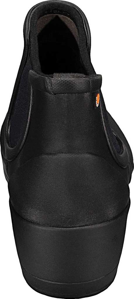Women's Bogs Vista Wedge Ankle Waterproof Boot, Black Rubber, large, image 4