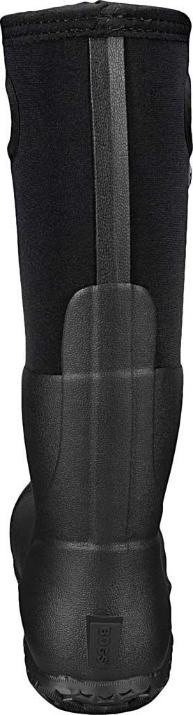 Women's Bogs Mesa Waterproof Rain Boot, Black Solid Rubber/Textile, large, image 4