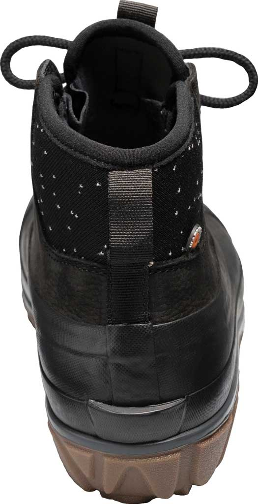 Women's Bogs Classic Casual Lace Waterproof Duck Boot, Black Rubber/Leather, large, image 4