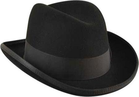 Men's Bailey of Hollywood Godfather 3817, Black, large, image 2