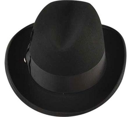 Men's Bailey of Hollywood Godfather 3817, Black, large, image 3