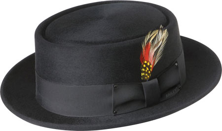 Men's Bailey of Hollywood Jett 1451, Black, large, image 1