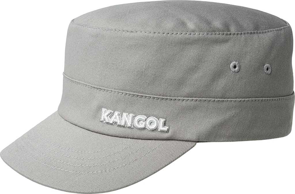 Kangol Cotton Twill Army Cap, Silver, large, image 1