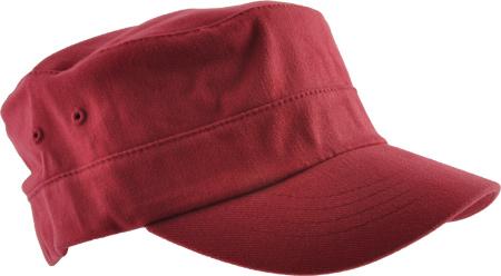 Kangol Cotton Twill Army Cap, Cardinal, large, image 1