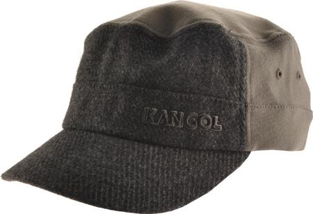 Men's Kangol Textured Wool Army Cap, , large, image 1