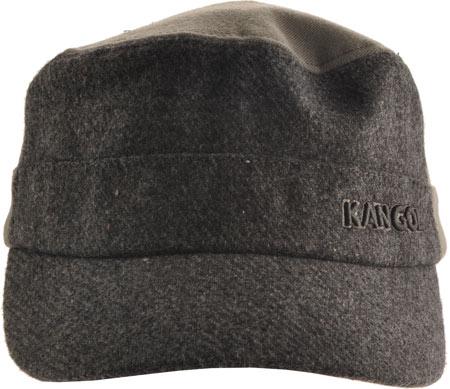 Men's Kangol Textured Wool Army Cap, , large, image 2