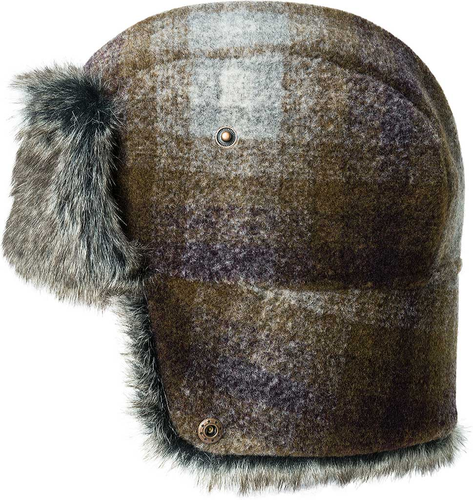 Men's Bailey of Hollywood Roval Trapper Hat 25149, Tobacco Plaid, large, image 2