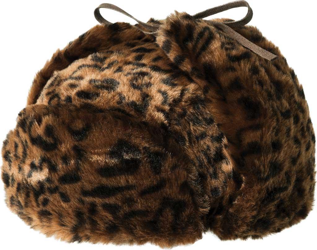 Men's Kangol Leopard Trapper Hat, , large, image 1