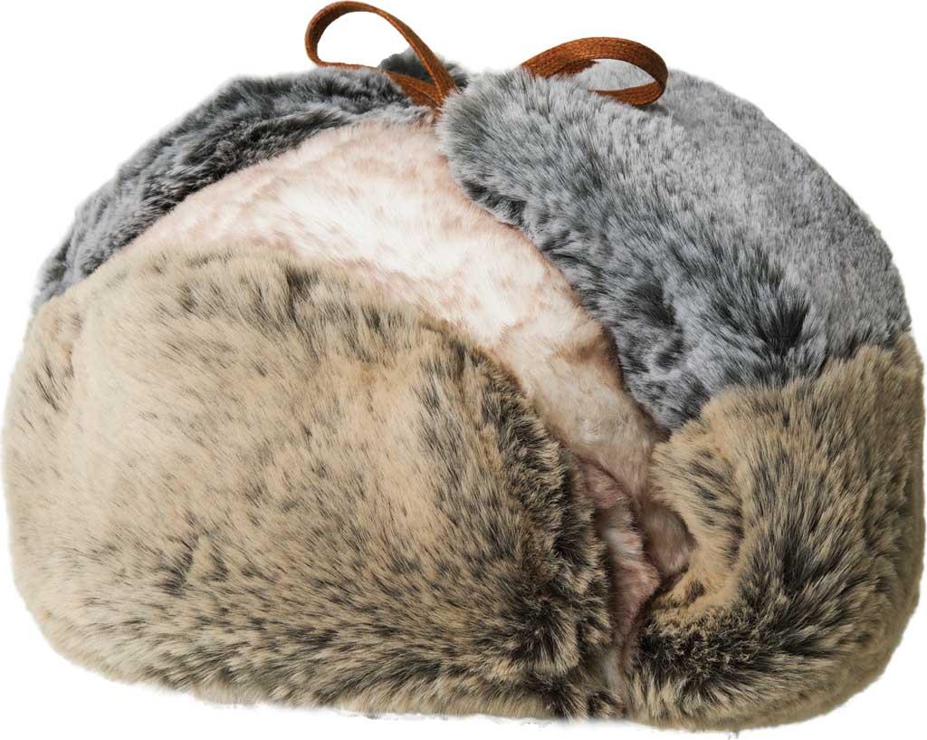 Men's Kangol Multi Faux Fur Trapper, Multi, large, image 1