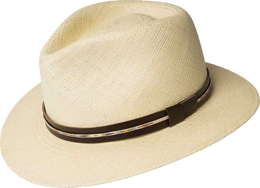 Men's Bailey of Hollywood Stansfield Genuine Panama Fedora 22791, , large, image 1