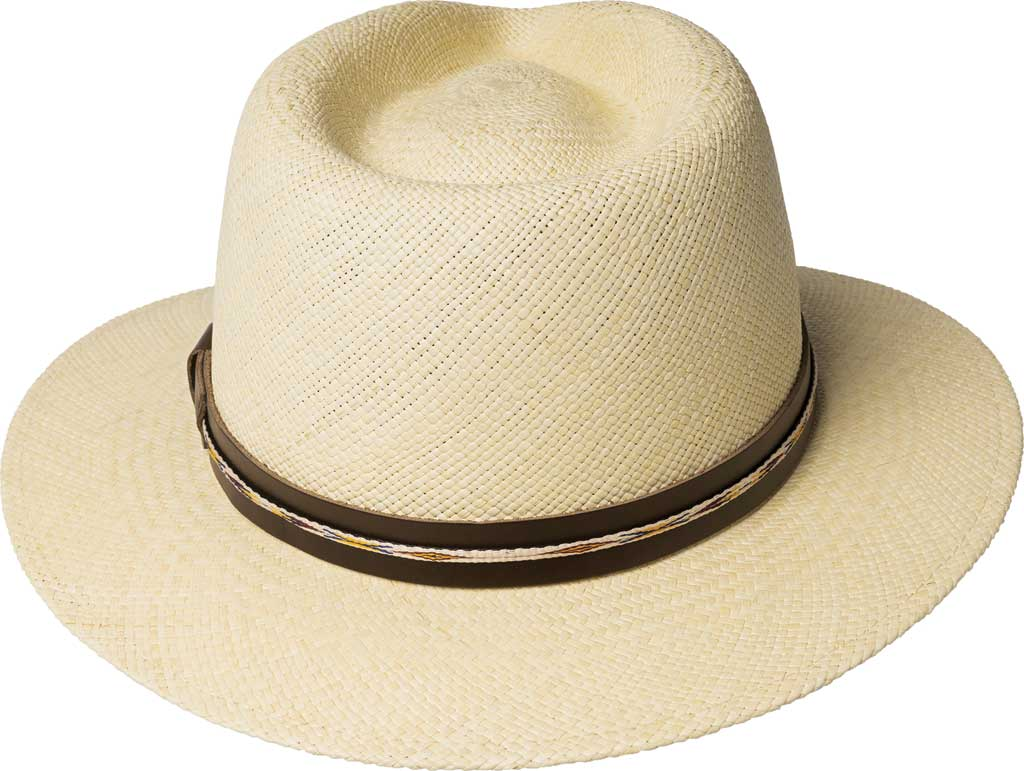 Men's Bailey of Hollywood Stansfield Genuine Panama Fedora 22791, , large, image 2