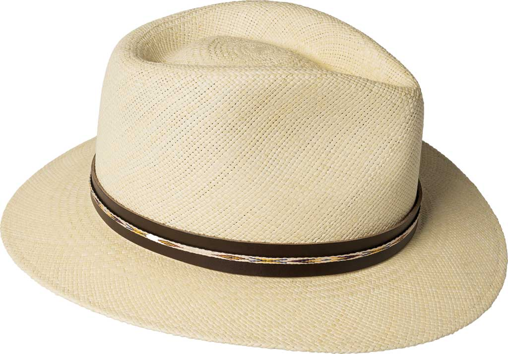 Men's Bailey of Hollywood Stansfield Genuine Panama Fedora 22791, , large, image 3