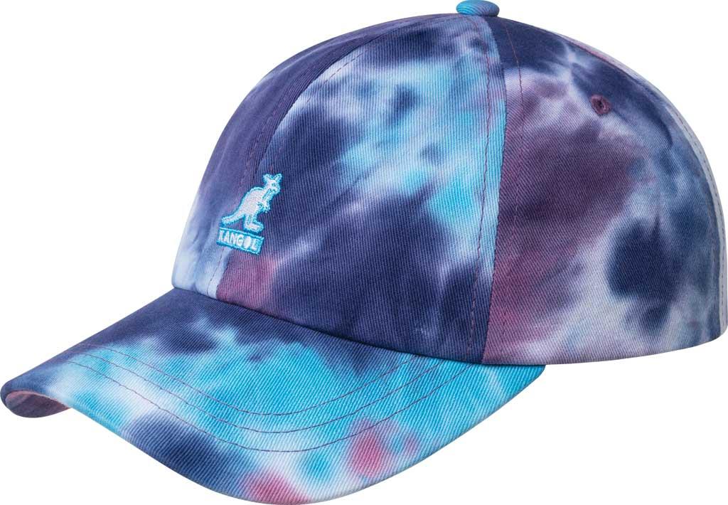 Kangol Tie Dye Baseball Cap, Rainbow, large, image 1