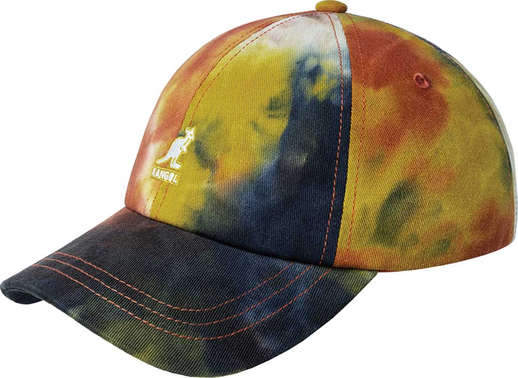 Kangol Tie Dye Baseball Cap, Golden Palm, large, image 1