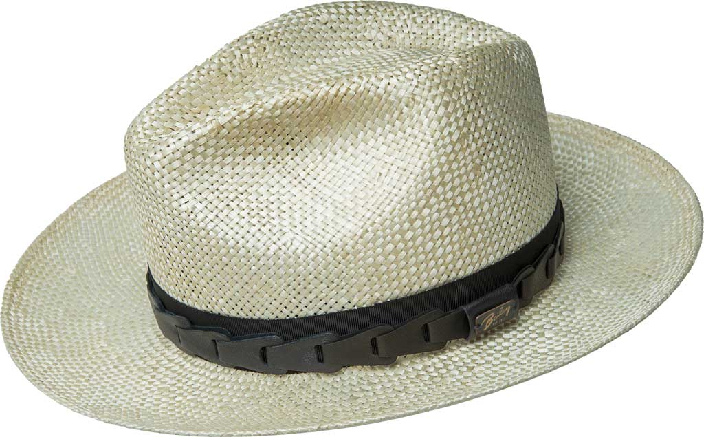 Men's Bailey of Hollywood Rundle Fedora 63286, Natural, large, image 1