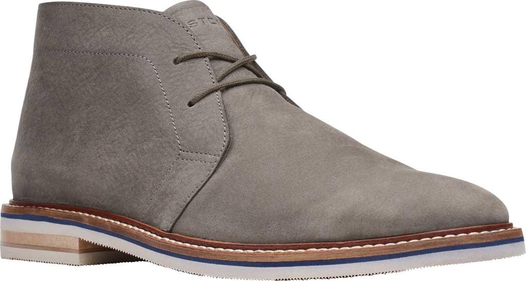 Men's Bostonian Dezmin Mid Boot, Grey Nubuck, large, image 1