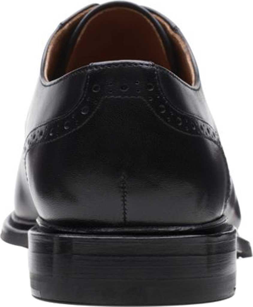 Men's Bostonian Bridgeport Cap Derby Shoe, Black Full Grain Leather, large, image 4