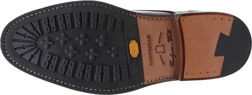 Men's Bostonian Bridgeport Cap Derby Shoe, Black Full Grain Leather, large, image 6