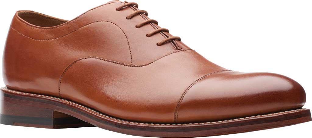 Men's Bostonian Rhodes Cap Toe Oxford, Tan Leather, large, image 1