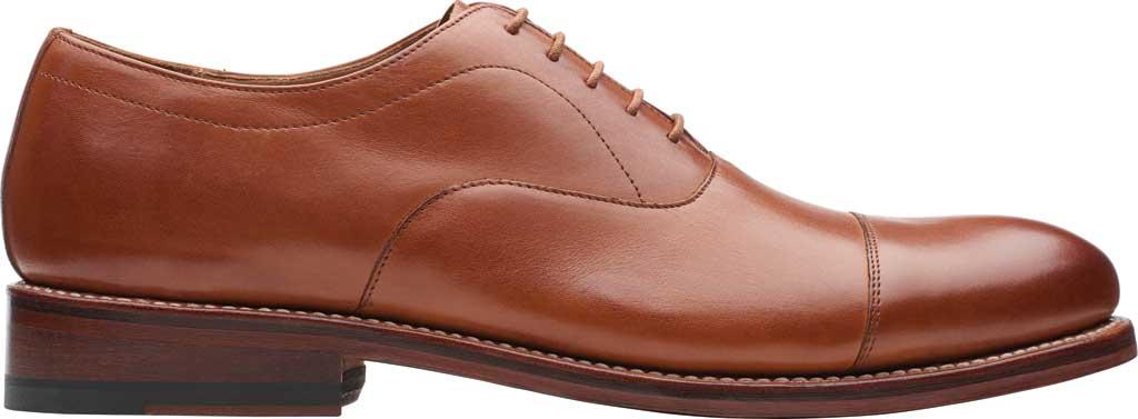 Men's Bostonian Rhodes Cap Toe Oxford, Tan Leather, large, image 2