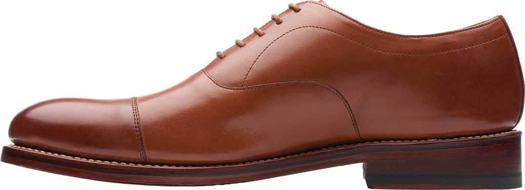 Men's Bostonian Rhodes Cap Toe Oxford, Tan Leather, large, image 3