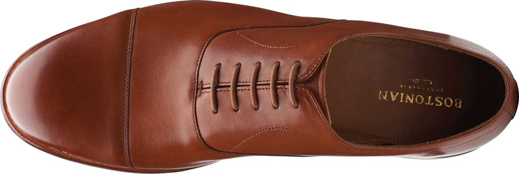 Men's Bostonian Rhodes Cap Toe Oxford, Tan Leather, large, image 5
