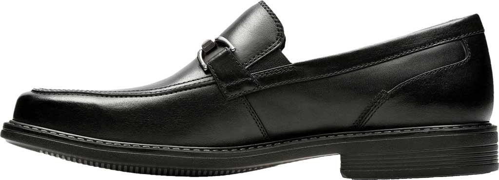 Men's Bostonian Laureate Step Loafer, Black Full Grain Leather, large, image 3