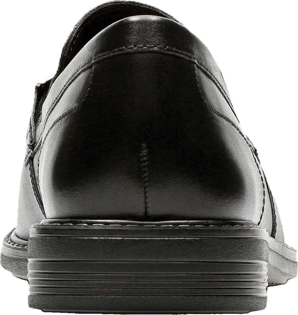 Men's Bostonian Laureate Step Loafer, Black Full Grain Leather, large, image 4