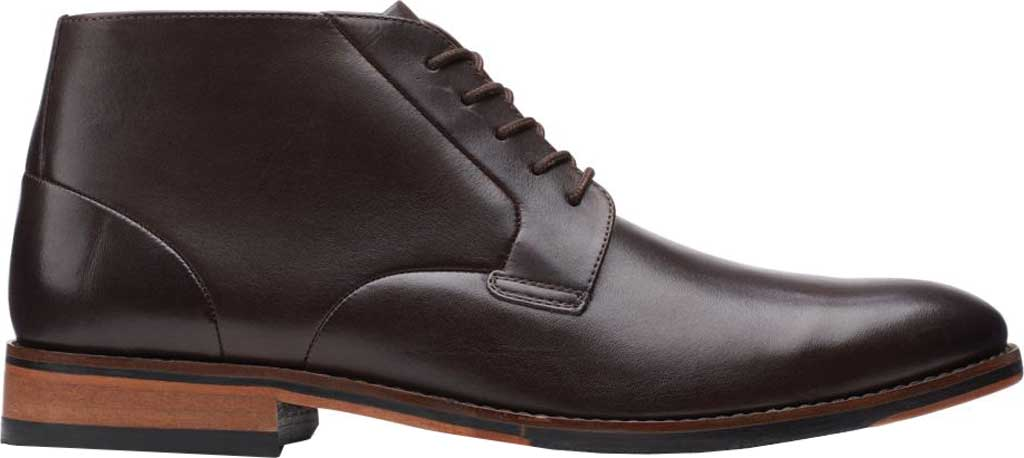 Men's Bostonian Treymore Mid Chukka Boot, Dark Brown Full Grain Leather, large, image 2