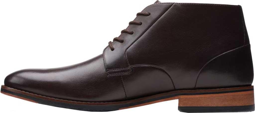 Men's Bostonian Treymore Mid Chukka Boot, Dark Brown Full Grain Leather, large, image 3