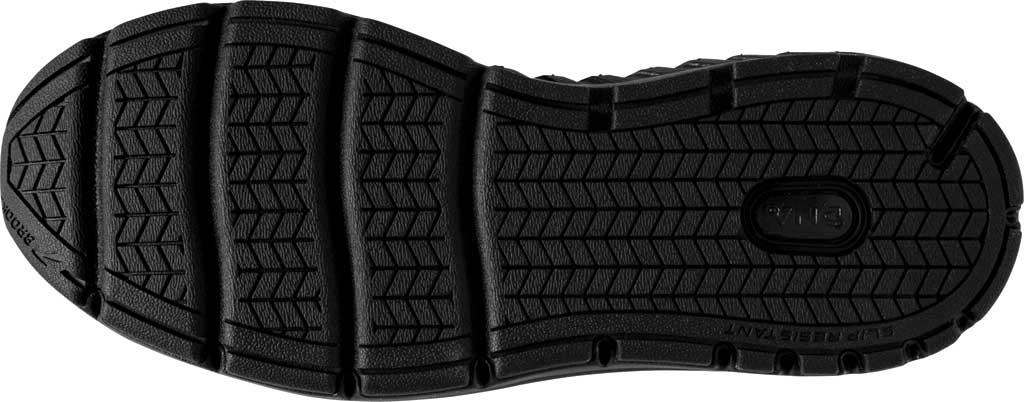 Men's Brooks Addiction Walker 2 Walking Shoe, Black/Black, large, image 6