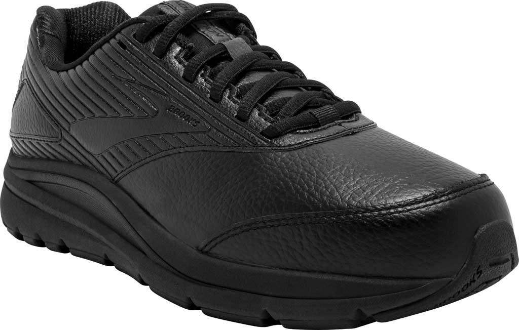 Women's Brooks Addiction Walker 2 Walking Shoe, Black/Black, large, image 1