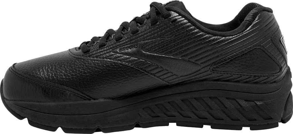 Women's Brooks Addiction Walker 2 Walking Shoe, Black/Black, large, image 3
