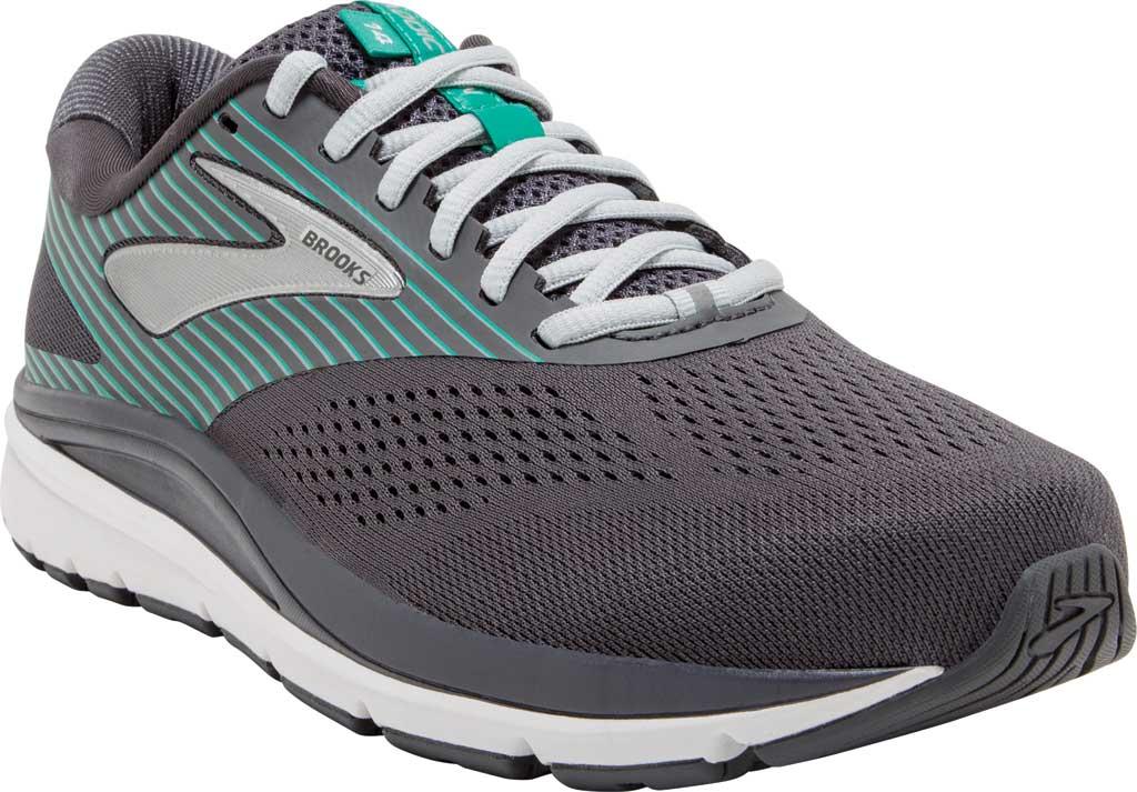 Women's Brooks Addiction 14 Running Shoe, Blackened Pearl/Arcadia, large, image 1