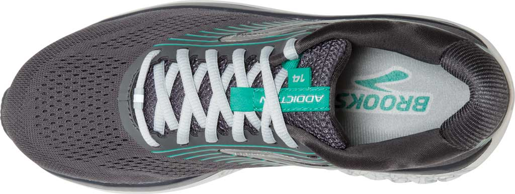 Women's Brooks Addiction 14 Running Shoe, Blackened Pearl/Arcadia, large, image 5