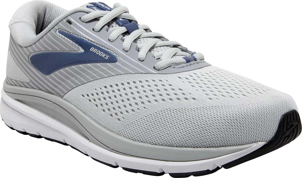 Women's Brooks Addiction 14 Running Shoe, Oyster/Alloy/Marlin, large, image 1
