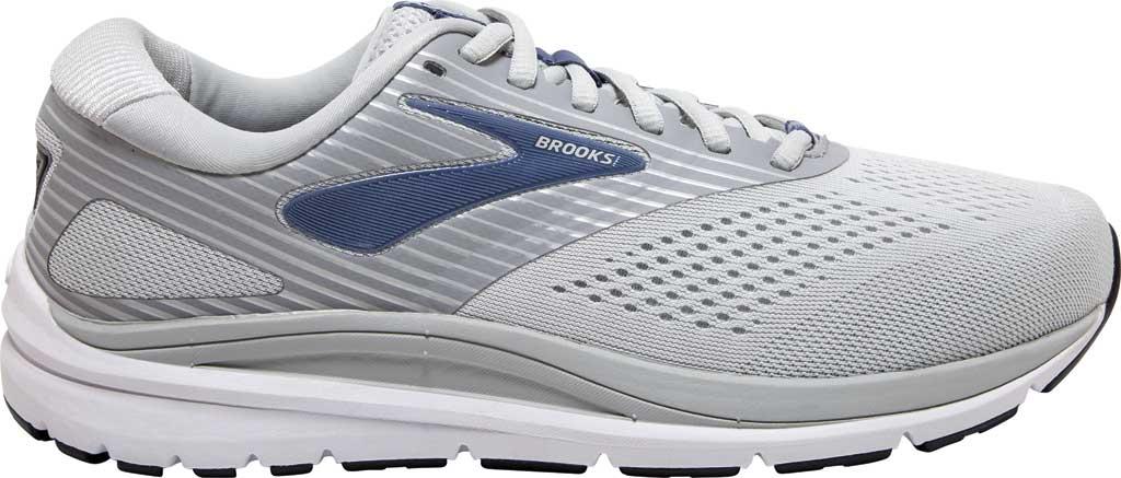 Women's Brooks Addiction 14 Running Shoe, Oyster/Alloy/Marlin, large, image 2
