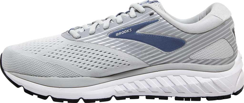 Women's Brooks Addiction 14 Running Shoe, Oyster/Alloy/Marlin, large, image 3