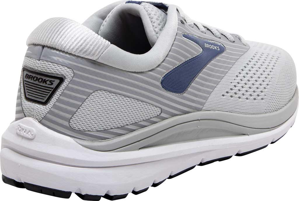Women's Brooks Addiction 14 Running Shoe, Oyster/Alloy/Marlin, large, image 4