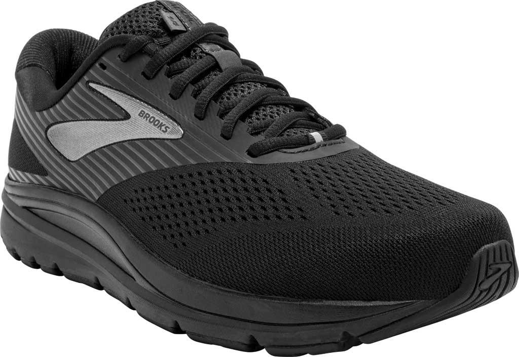 Men's Brooks Addiction 14 Running Shoe, Black/Charcoal/Black, large, image 1