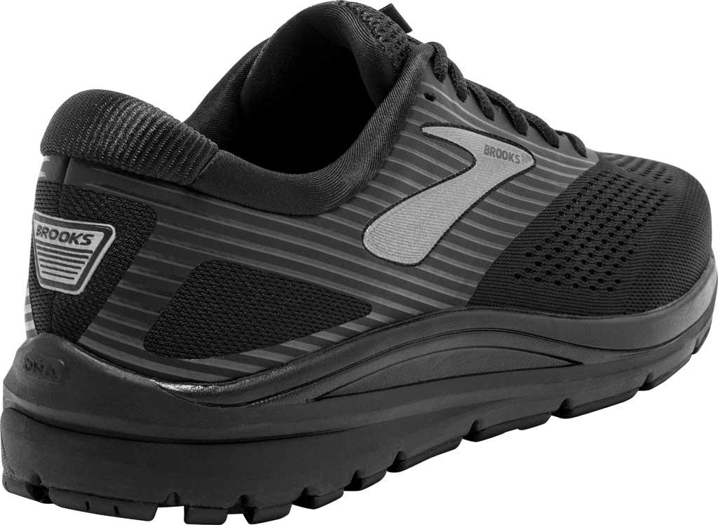 Men's Brooks Addiction 14 Running Shoe, Black/Charcoal/Black, large, image 4